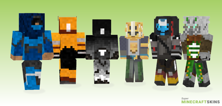 Destiny Minecraft Skins - Best Free Minecraft skins for Girls and Boys