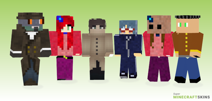 Detective Minecraft Skins - Best Free Minecraft skins for Girls and Boys