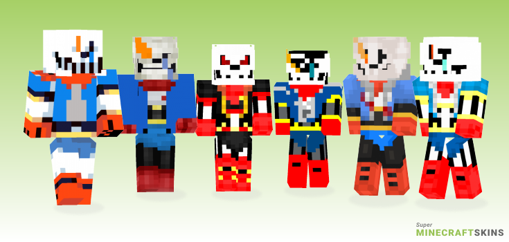 Disbelief papyrus Minecraft Skins  Download for free at