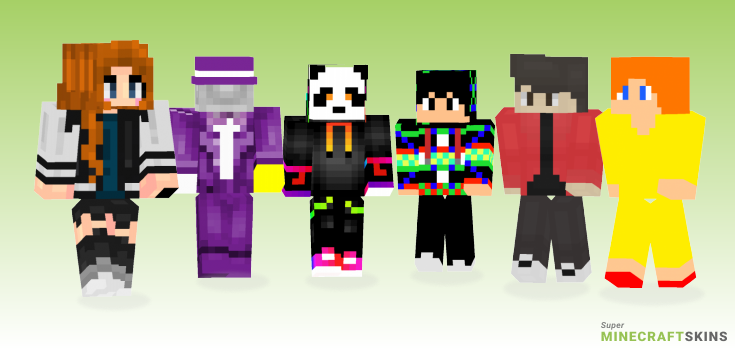 Disco Minecraft Skins - Best Free Minecraft skins for Girls and Boys