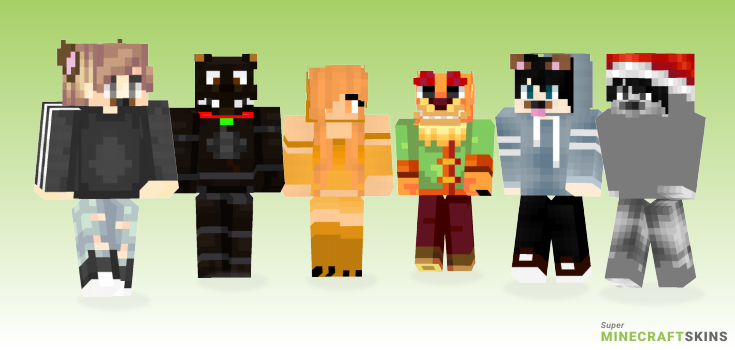 Dog Minecraft Skins - Best Free Minecraft skins for Girls and Boys