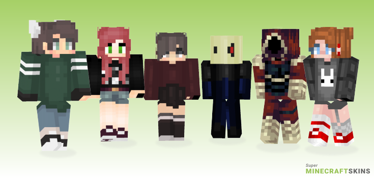 Doubt Minecraft Skins - Best Free Minecraft skins for Girls and Boys