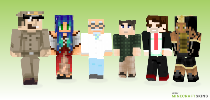 Douglas Minecraft Skins - Best Free Minecraft skins for Girls and Boys