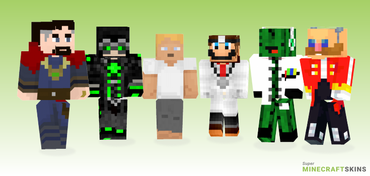 Dr Minecraft Skins - Best Free Minecraft skins for Girls and Boys