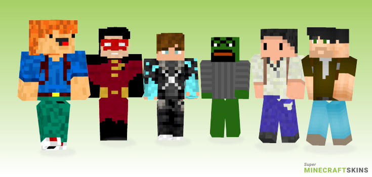 Drake Minecraft Skins - Best Free Minecraft skins for Girls and Boys