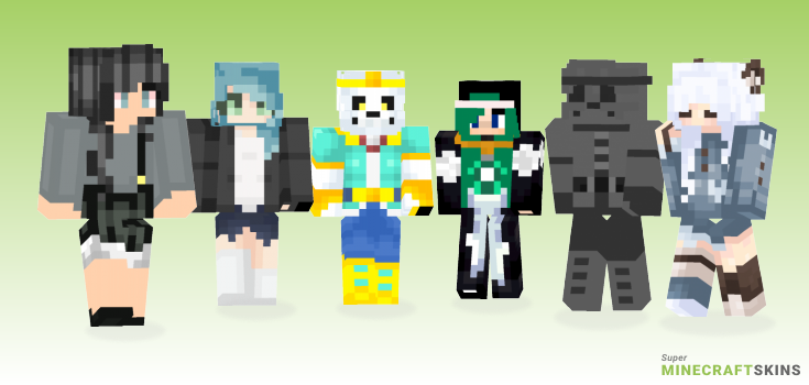 Dream Minecraft Skins - Best Free Minecraft skins for Girls and Boys