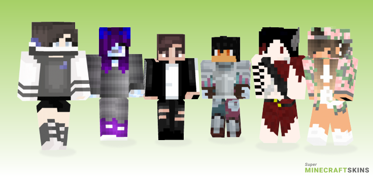 Dunno Minecraft Skins - Best Free Minecraft skins for Girls and Boys