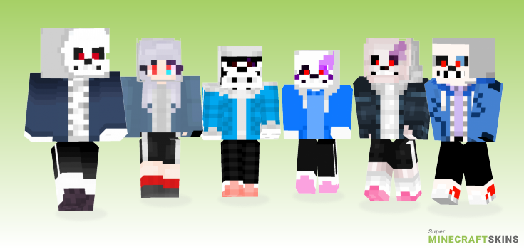 Dusttale Minecraft Skins - Best Free Minecraft skins for Girls and Boys