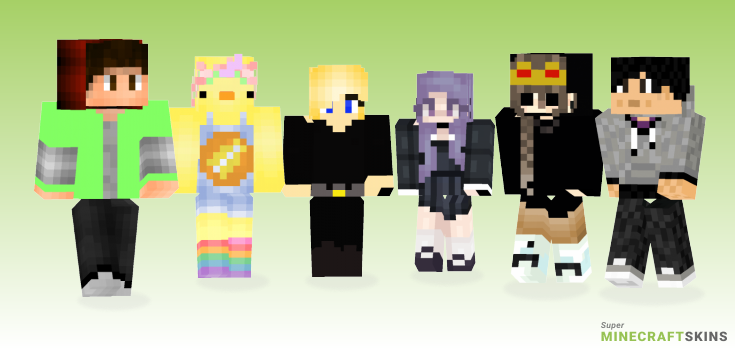 Edit Minecraft Skins - Best Free Minecraft skins for Girls and Boys