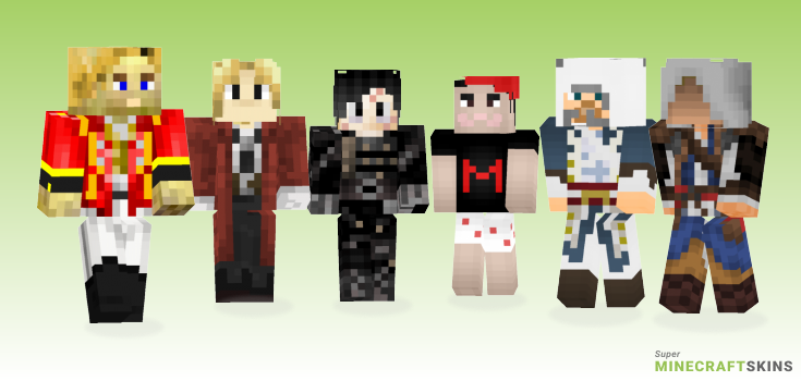 Edward Minecraft Skins - Best Free Minecraft skins for Girls and Boys