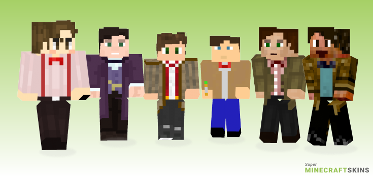 Eleventh Minecraft Skins - Best Free Minecraft skins for Girls and Boys