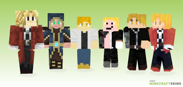 Elric Minecraft Skins - Best Free Minecraft skins for Girls and Boys