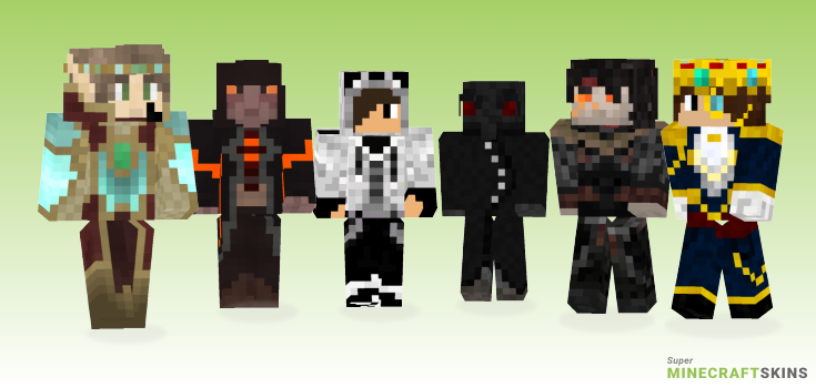 Emperor Minecraft Skins - Best Free Minecraft skins for Girls and Boys