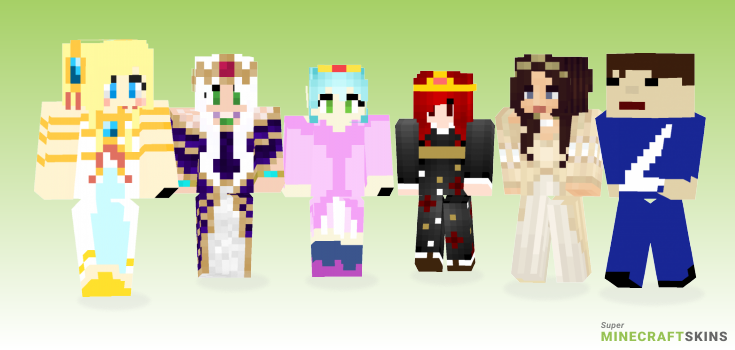 Empress Minecraft Skins - Best Free Minecraft skins for Girls and Boys