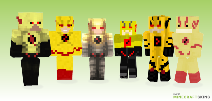 Eobard Minecraft Skins - Best Free Minecraft skins for Girls and Boys