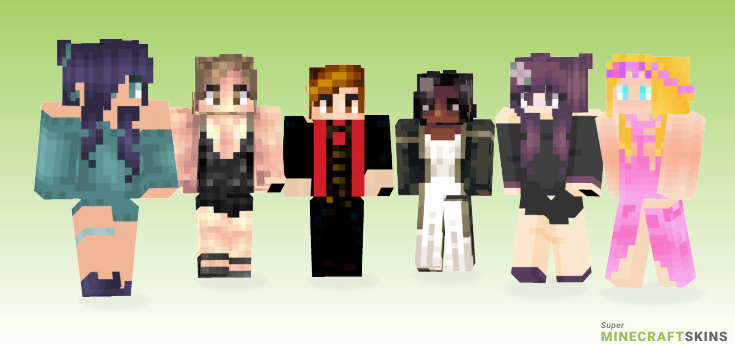 Evening Minecraft Skins - Best Free Minecraft skins for Girls and Boys