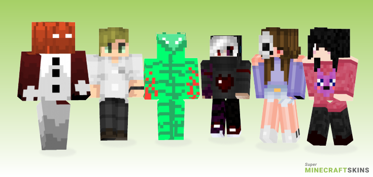Evil Minecraft Skins - Best Free Minecraft skins for Girls and Boys
