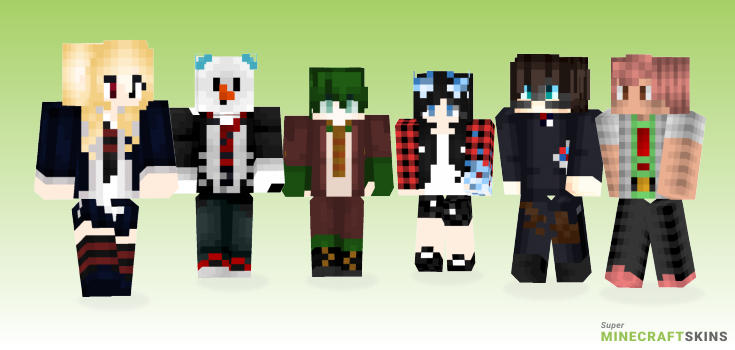 Exorcist Minecraft Skins - Best Free Minecraft skins for Girls and Boys