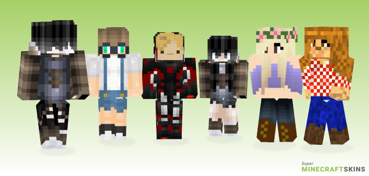 Farm Minecraft Skins - Best Free Minecraft skins for Girls and Boys