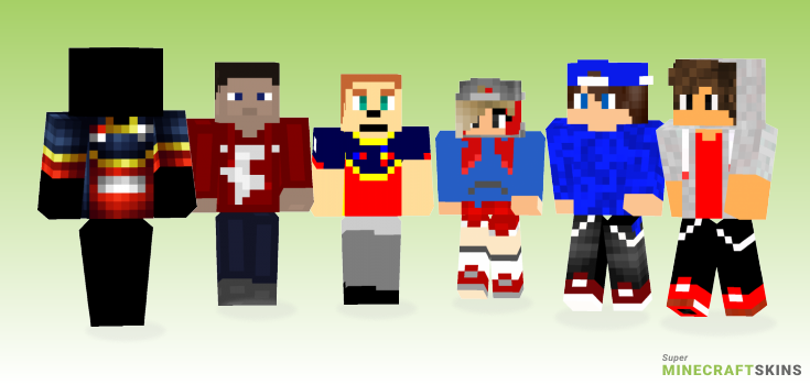 Faze Minecraft Skins - Best Free Minecraft skins for Girls and Boys