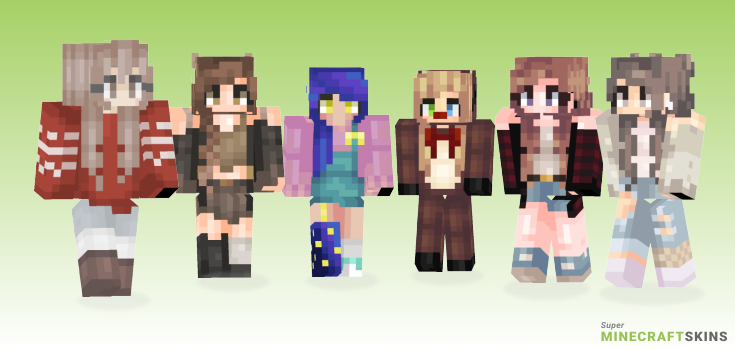 Feels Minecraft Skins - Best Free Minecraft skins for Girls and Boys