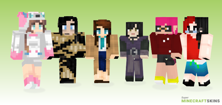 Female Minecraft Skins - Best Free Minecraft skins for Girls and Boys