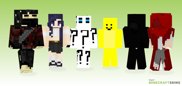 Figure Minecraft Skins - Best Free Minecraft skins for Girls and Boys