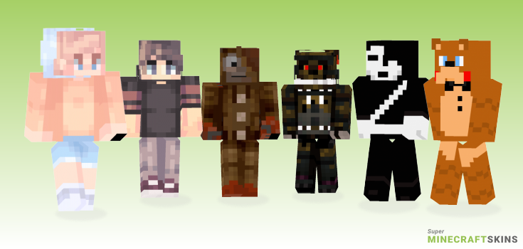 Five Minecraft Skins - Best Free Minecraft skins for Girls and Boys