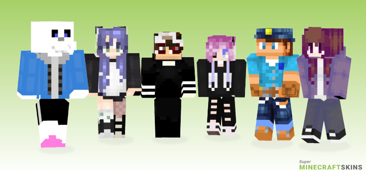 Fix Minecraft Skins - Best Free Minecraft skins for Girls and Boys