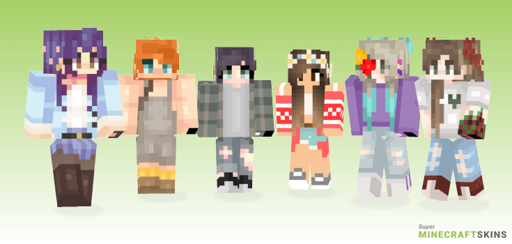 Flower Minecraft Skins - Best Free Minecraft skins for Girls and Boys