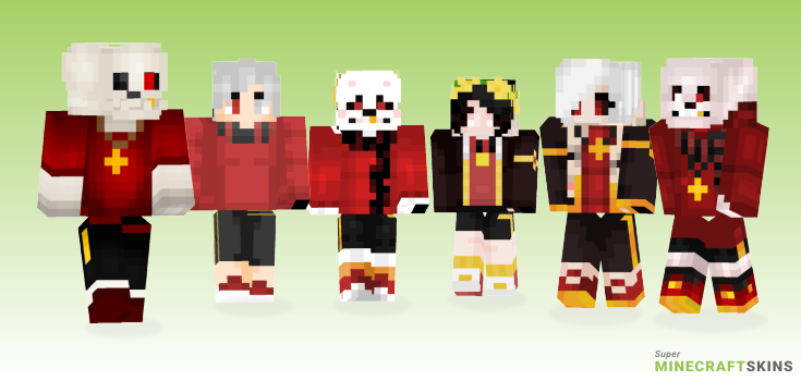 Flowerfell Minecraft Skins - Best Free Minecraft skins for Girls and Boys