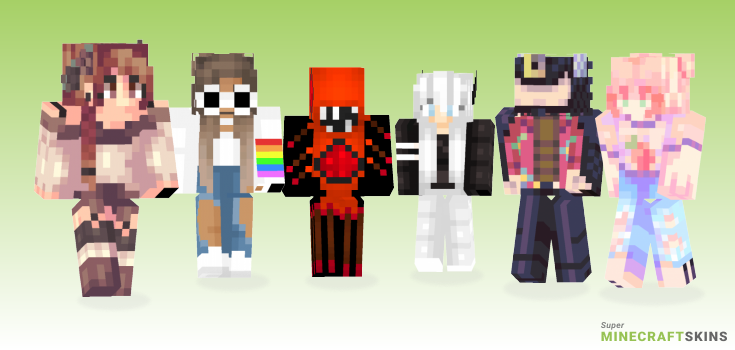 Fly Minecraft Skins - Best Free Minecraft skins for Girls and Boys