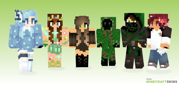 Forest Minecraft Skins - Best Free Minecraft skins for Girls and Boys