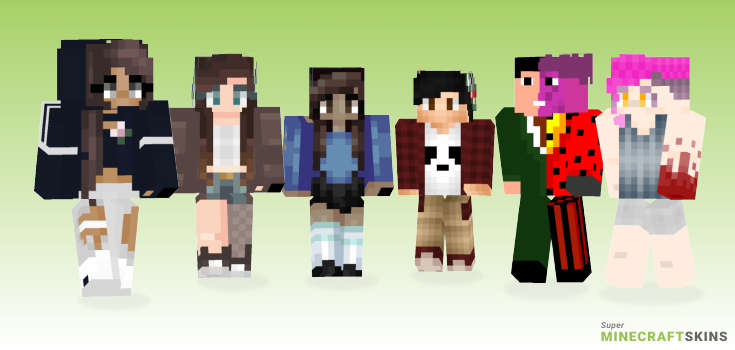 Forever Minecraft Skins - Best Free Minecraft skins for Girls and Boys