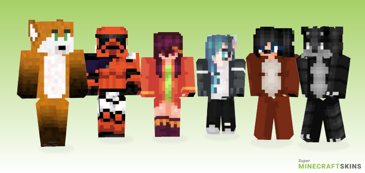 Fox Minecraft Skins - Best Free Minecraft skins for Girls and Boys