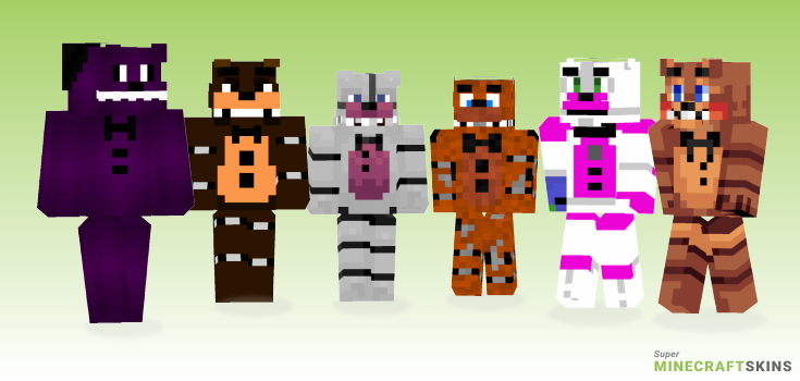 Freddy Minecraft Skins - Best Free Minecraft skins for Girls and Boys