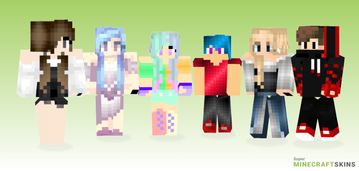Free Minecraft Skins - Best Free Minecraft skins for Girls and Boys