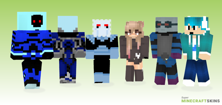 Freeze Minecraft Skins - Best Free Minecraft skins for Girls and Boys