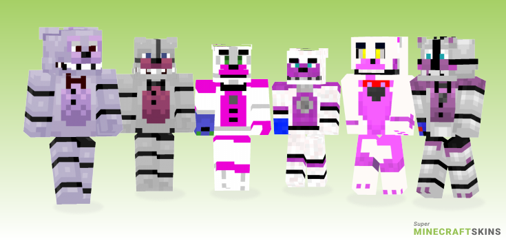 Funtime Minecraft Skins - Best Free Minecraft skins for Girls and Boys