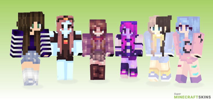 Galactical Minecraft Skins - Best Free Minecraft skins for Girls and Boys