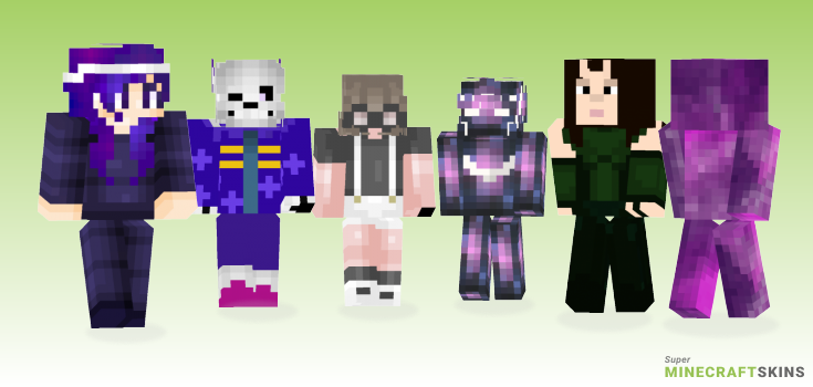 Galaxy Minecraft Skins - Best Free Minecraft skins for Girls and Boys
