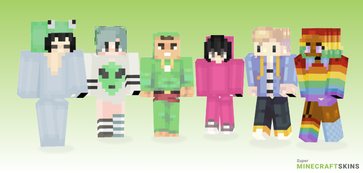 Gay Minecraft Skins - Best Free Minecraft skins for Girls and Boys