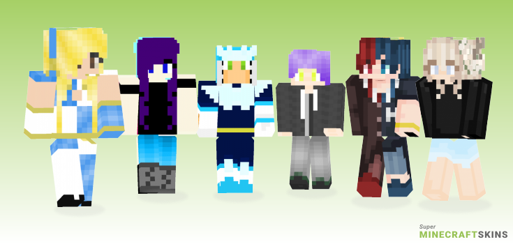 Gemini Minecraft Skins - Best Free Minecraft skins for Girls and Boys