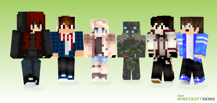 Generic Minecraft Skins - Best Free Minecraft skins for Girls and Boys