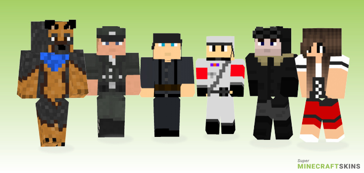 German Minecraft Skins - Best Free Minecraft skins for Girls and Boys