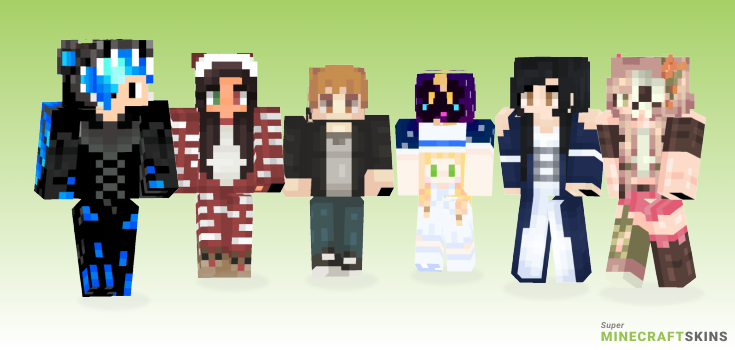 Get Minecraft Skins - Best Free Minecraft skins for Girls and Boys
