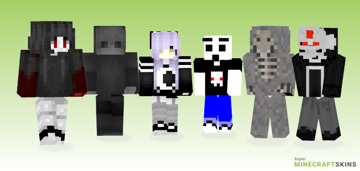 Ghost Minecraft Skins - Best Free Minecraft skins for Girls and Boys