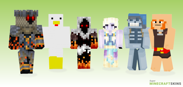 Giant Minecraft Skins - Best Free Minecraft skins for Girls and Boys