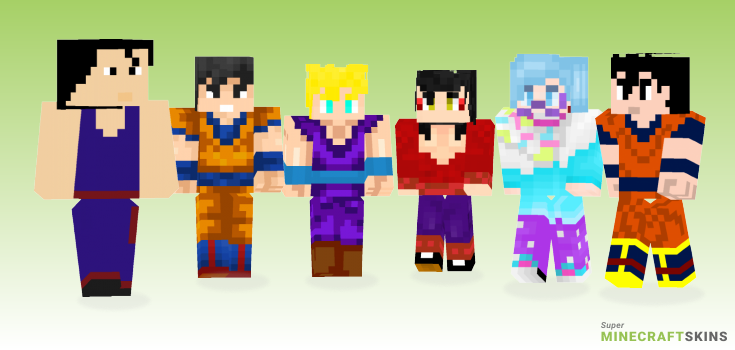 Gohan Minecraft Skins - Best Free Minecraft skins for Girls and Boys