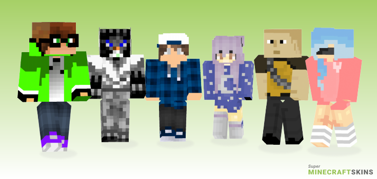 Good Minecraft Skins - Best Free Minecraft skins for Girls and Boys